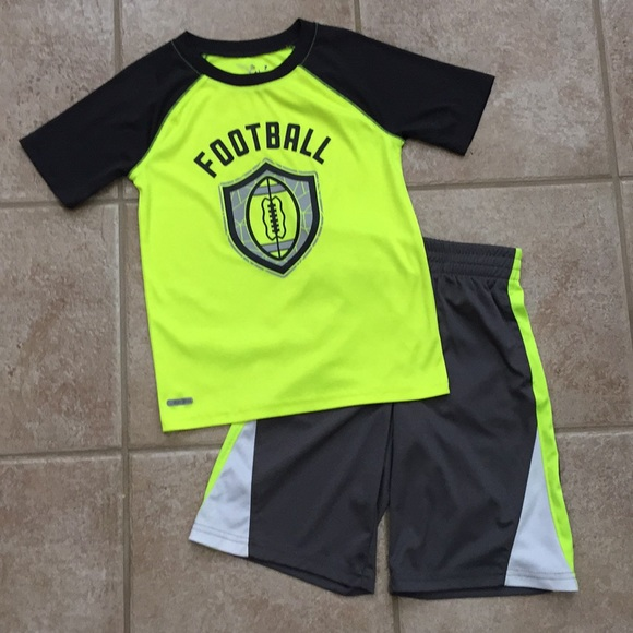 f4f8076a9 jumping beans Matching Sets | Boys Football Tee Shirt Shorts | Poshmark